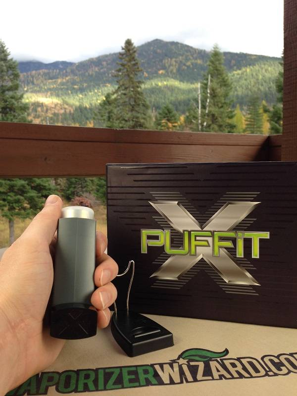 PUFFiT-X Vaporizer Size