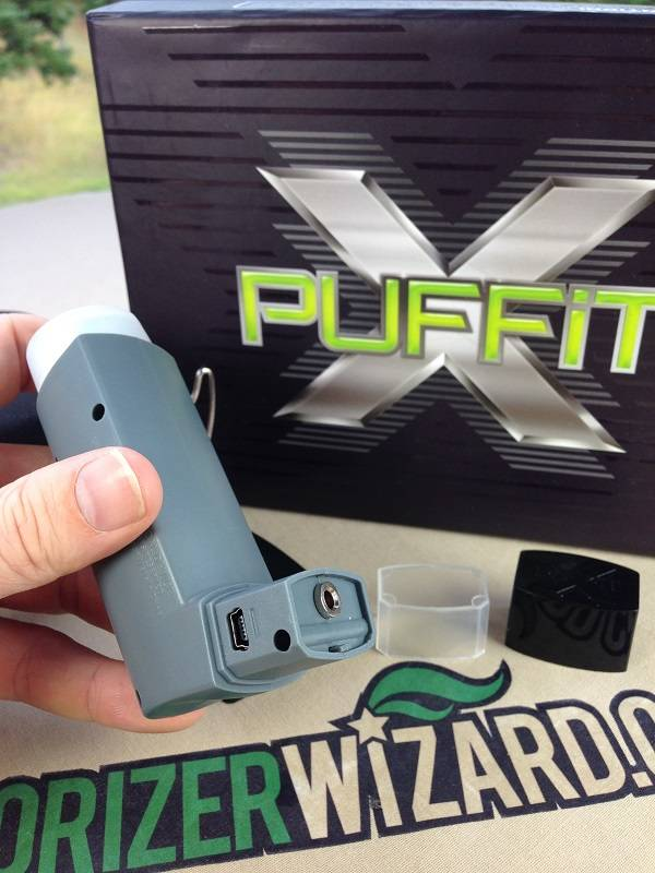 PUFFiT-X Vaporizer Charging Slot