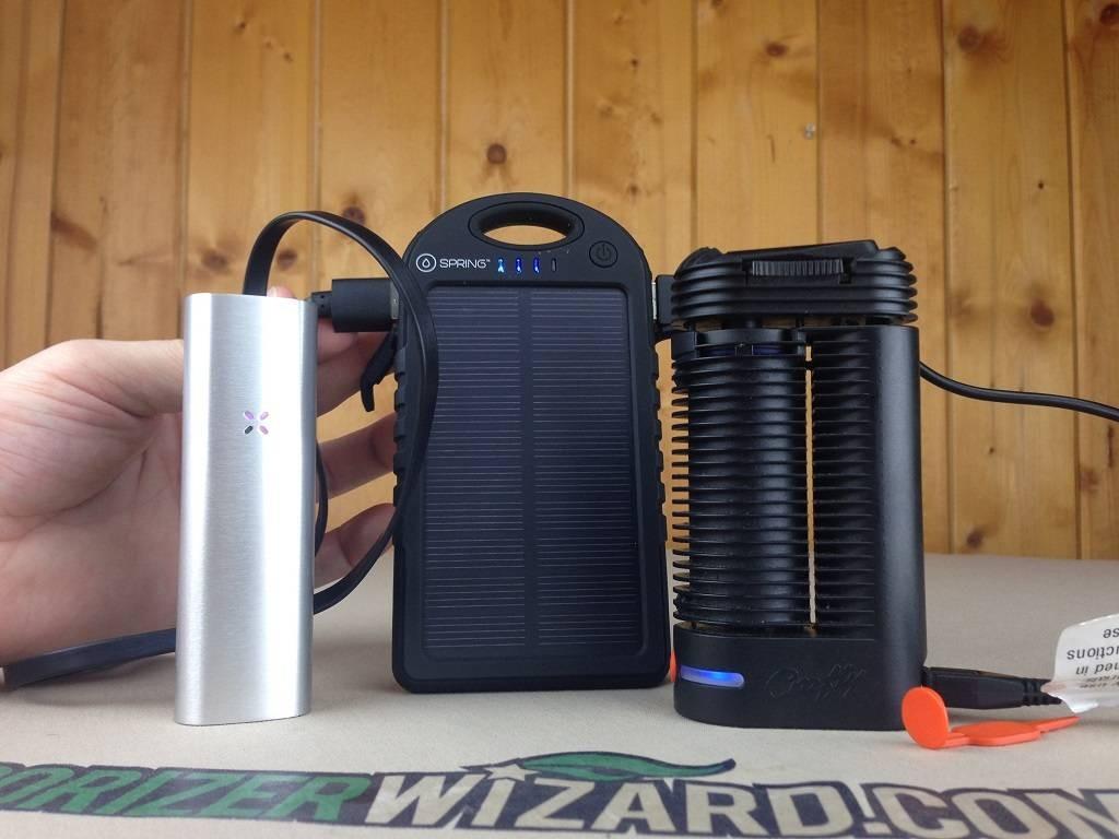 Pax 2 Crafty USB Charging