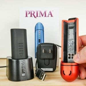 vapir prima charging dock and battery