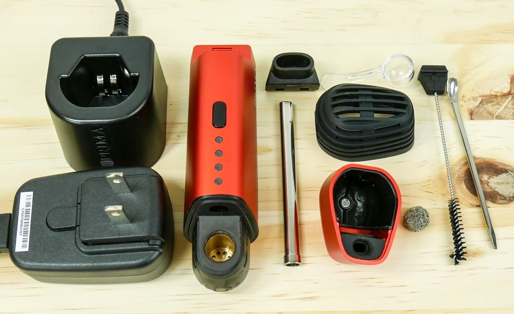 vapir prima vaporizer included accessories