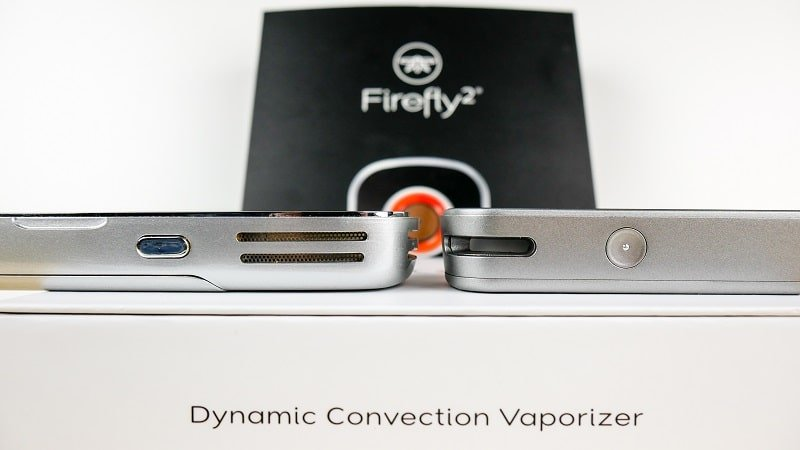 firefly 2 thickness and heat buttons