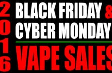 Black Friday and Cyber Monday Vaporizer Sales