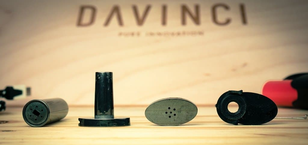 Davinci IQ Flavor Chamber and Mouthpieces