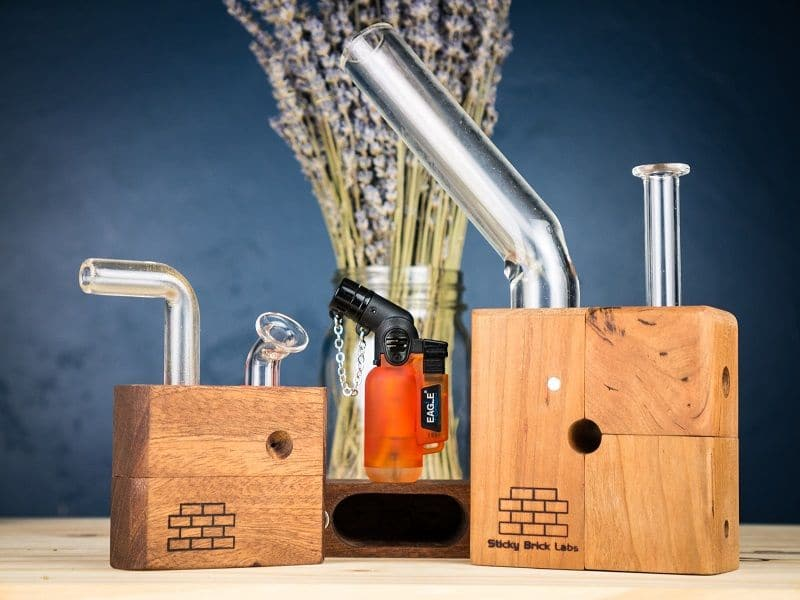 Sticky Brick Junior and Sticky Brick Original Vaporizers