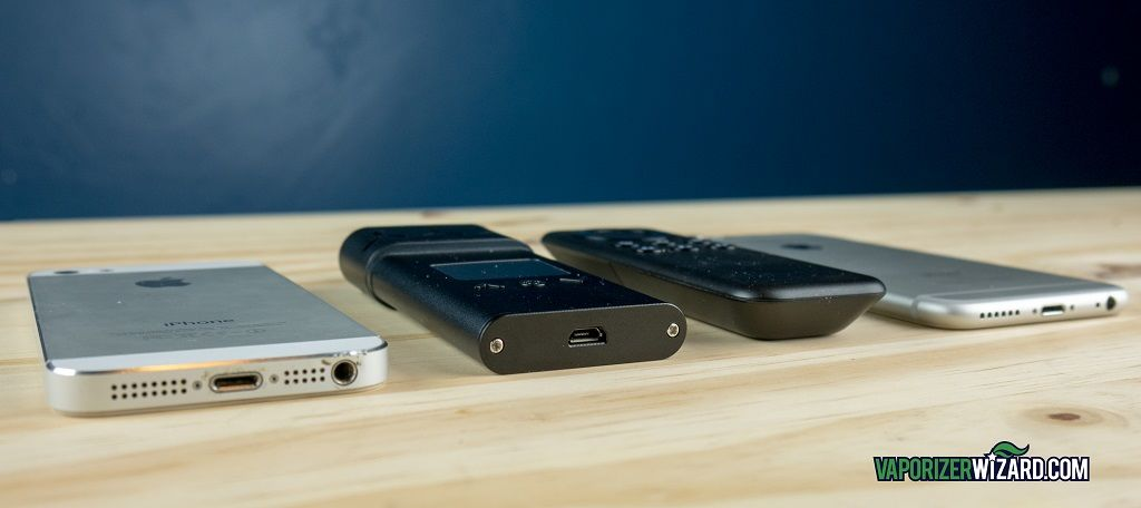 AirVape XS Compared to iPhone Smartphones