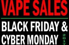 Black Friday Cyber Monday Vaporizer Sales 2017