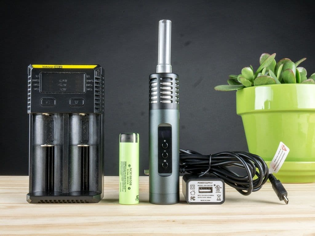 Air 2 Arizer Vaporizer Charging Options