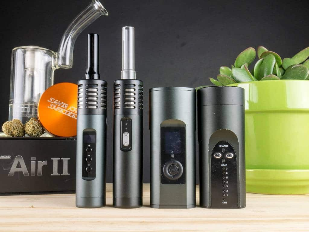 Arizer Portable Vaporizers (Air 2, Air, Solo 2, Solo)