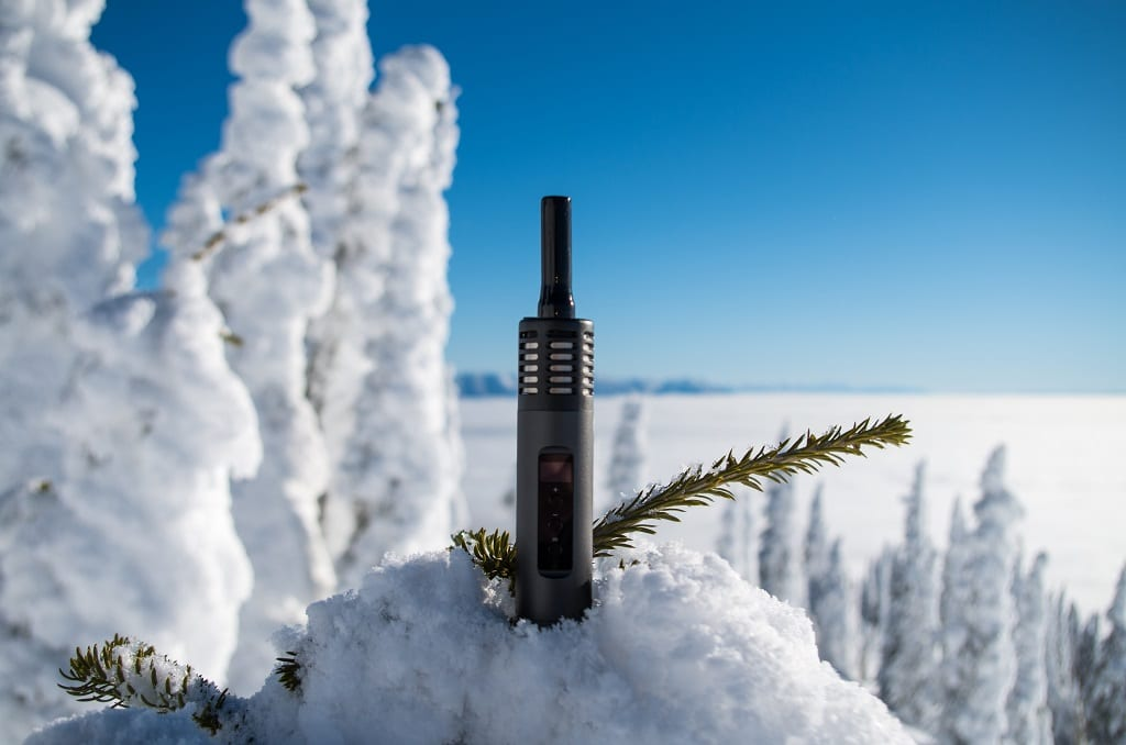Skiing with the Air 2 Vape
