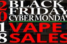 Black Friday Cyber Monday Vaporizer Sales 2018