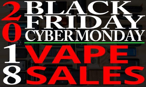Black Friday Cyber Monday Vaporizer Sales 2018