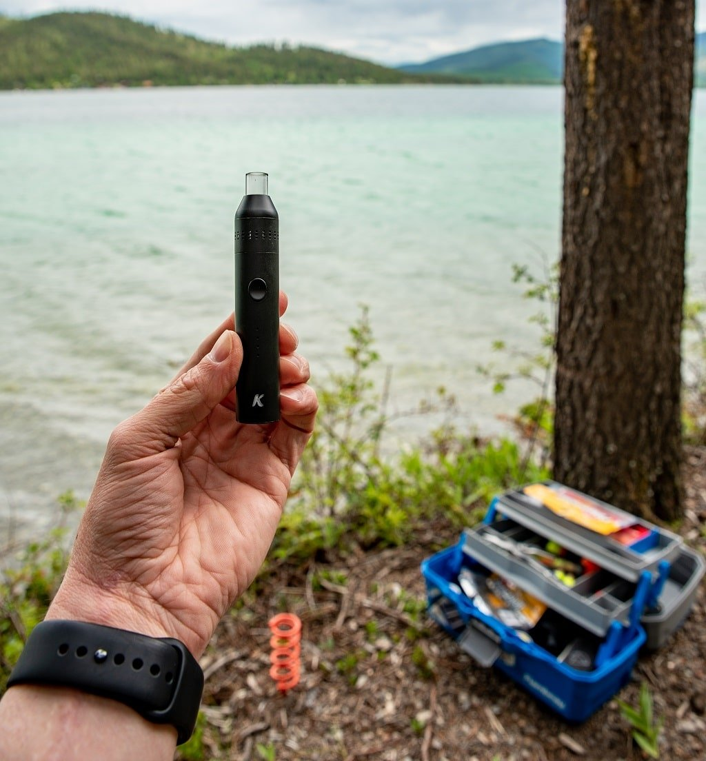 Fishing with the KandyPens Crystal Vaporizer