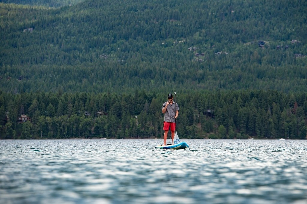 Paddle Boarding with Boundless Terp Pen