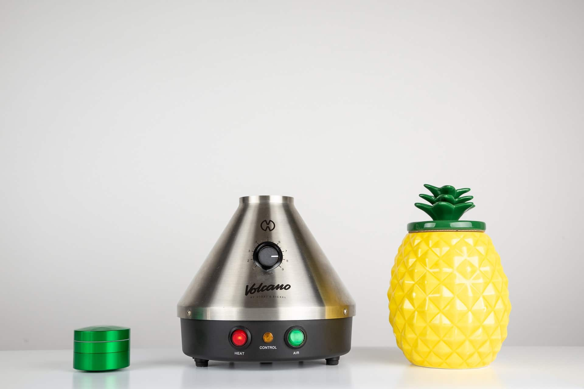 Volcano Vaporizer with Brilliant Cut Grinder