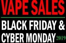 Black Friday Cyber Monday Vaporizer Sales 2019