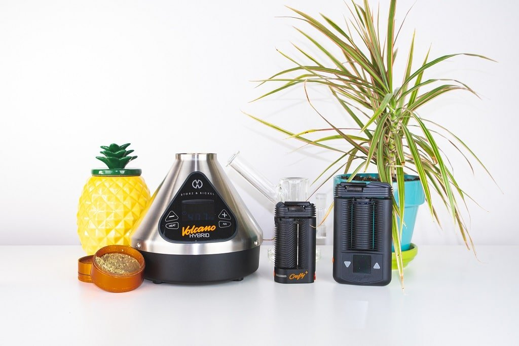 Storz and Bickel Vaporizers - Volcano Hybrid - Crafty - Mighty