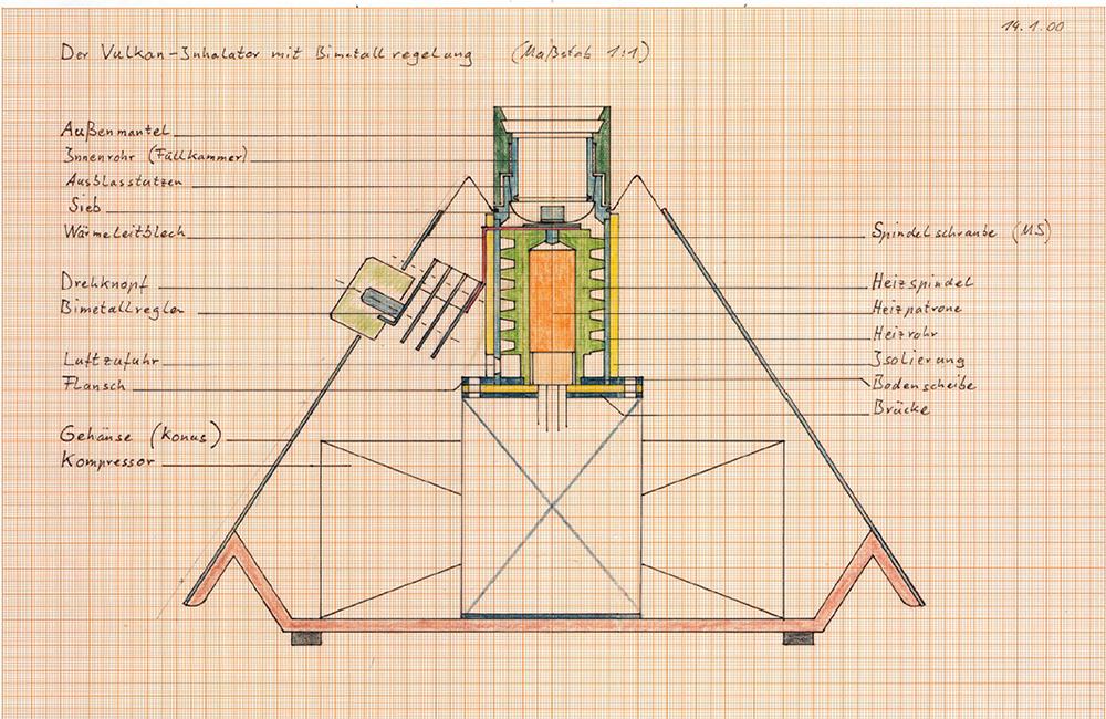 Volcano Vaporizer Blueprints