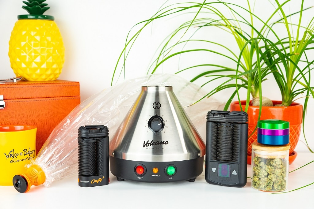 Volcano Classic with Mighty and Crafty Plus Vaporizers - Storz and Bickel