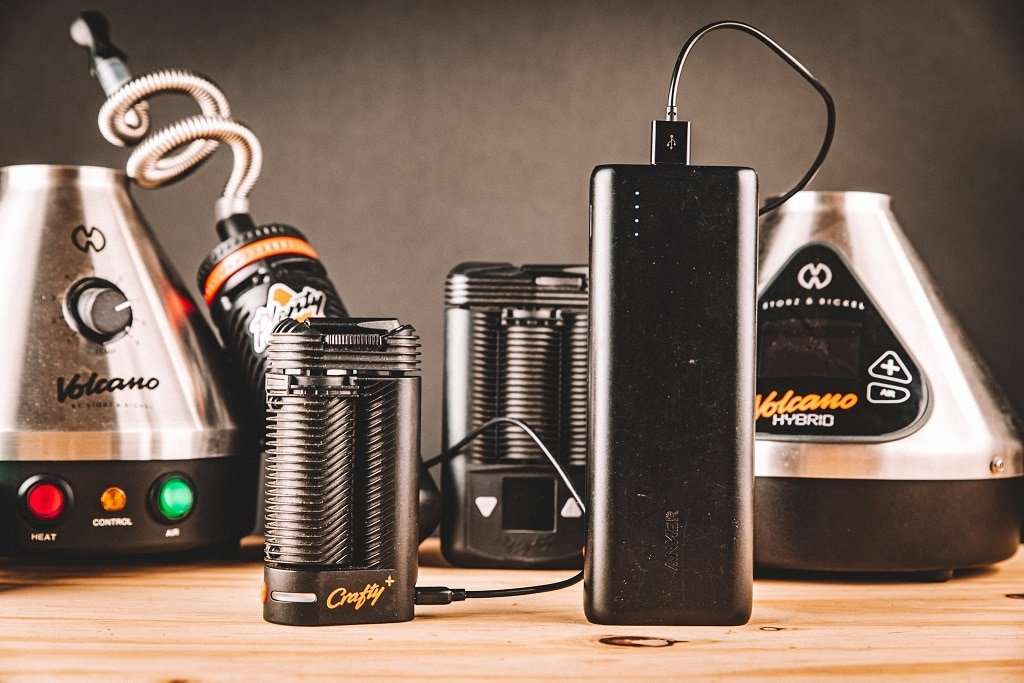 Crafty+ Vaporizer with Anker Battery Pack