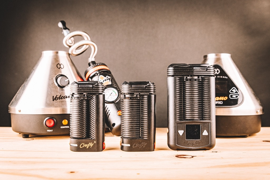 Storz and Bickel Portable Vaporizers (Crafty+, OG Crafty, Mighty)